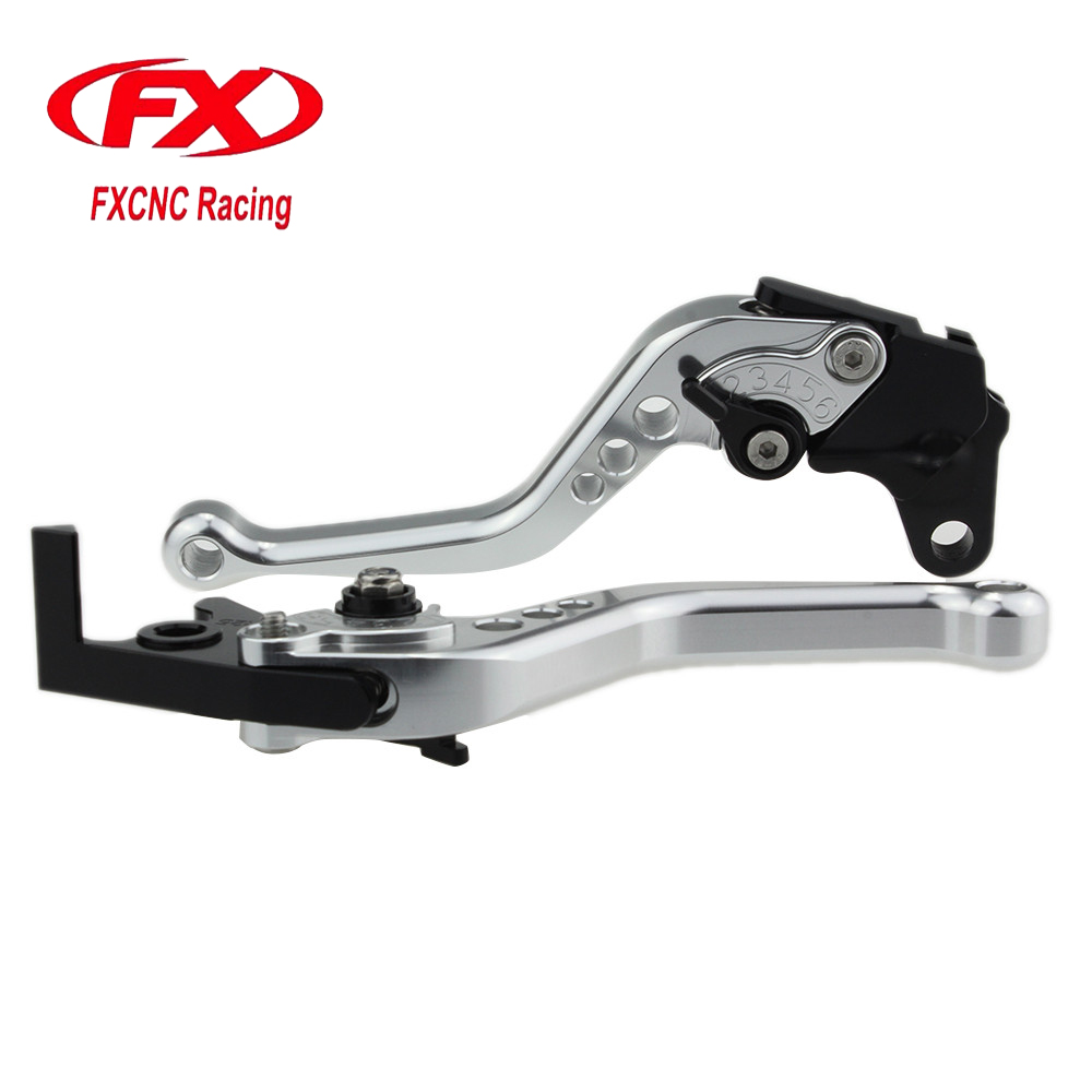 FXCNC Aluminum Adjustable Moto Motorcycle Brake Clutch Levers For Honda Hornet CBR 600 F 2011-2013 2012 Moto Brake Clutch Lever fxcnc aluminum adjustable moto motorcycle brake clutch levers for moto guzzi norge 1200 gt8v 2006 2015 07 08 09 10 11 12 13 14