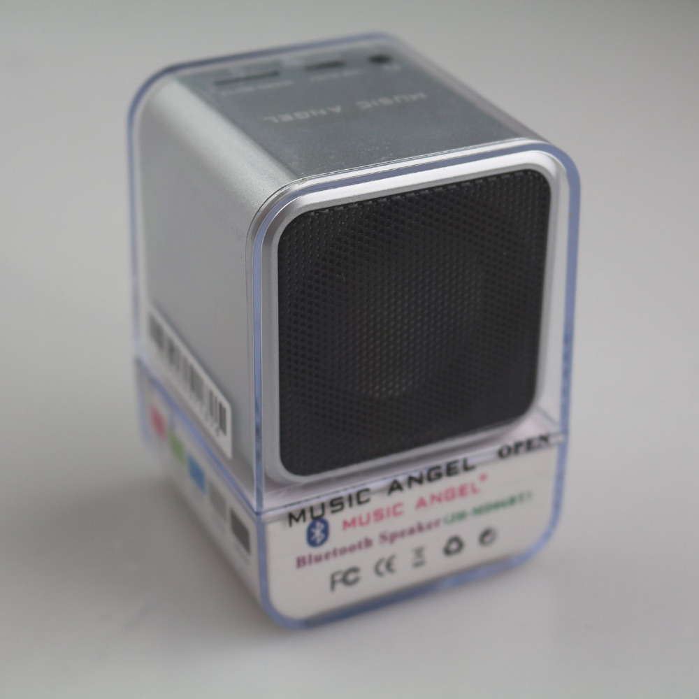 Music Angel JH-MD06BT2 Speaker Bluetooth Portable TF slot mp3 blue tooth speakers Mini M ...