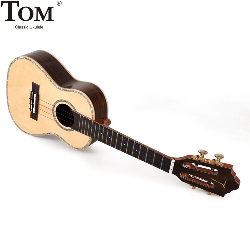 Dean Guitars Ukulele Travel Uke: Tom Ukulele Concert Tenor 23 26 Inch Travel Electric