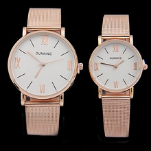 Luxury Brand Rose Gold Watches Women Stainless Steel Quartz Watch Casual Analog Wristwatches Ladies Dress Watches Female Hours