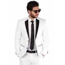 Fashion Mens Dinner Party Prom Suits Groom Tuxedos Groomsmen Wedding Blazer Suits Wedding suit Tailor Suit Blazer Jacket+Pants