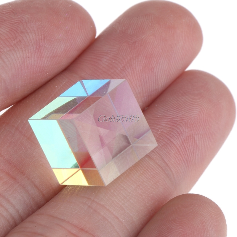 Prism Laser Beam Combine Cube Prism for 405nm~ 450nm Blue Laser Diode 5W FOR Optical Instruments Prism Mirror G07 Drop ship