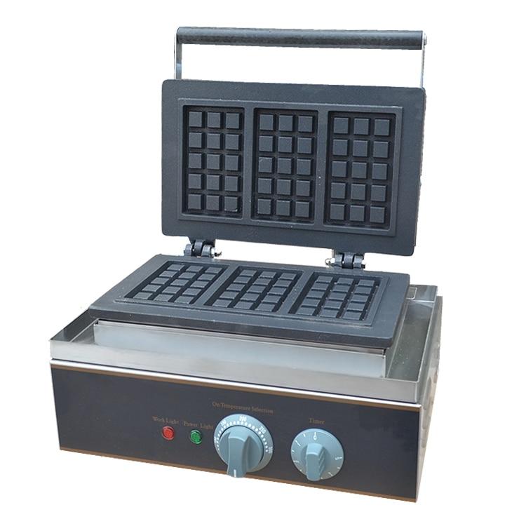 il trasporto libero 220 v fast food attrezzature da cucina elettrico waffle macchinachina