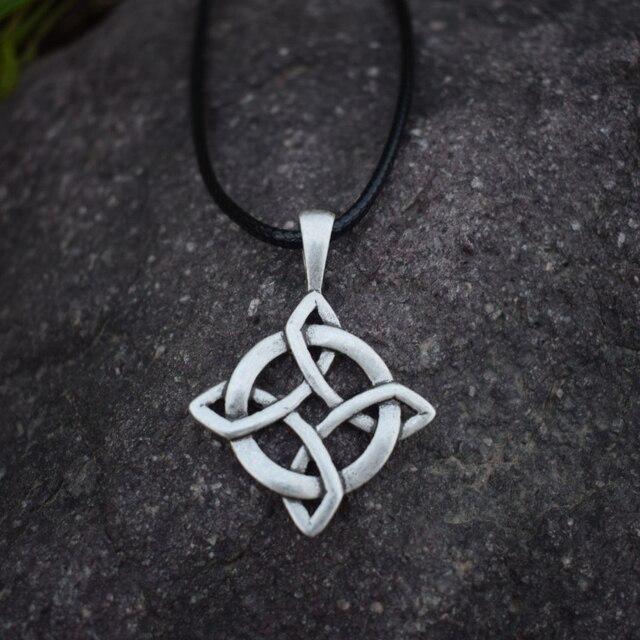 Celtic knot necklace irish celtic round pendant necklace sanlan celtic knot necklace irish celtic round pendant necklace sanlan jewelry birthday gift aloadofball Images
