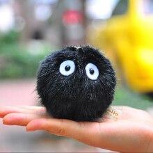 6CM My Neighbor Totoro Fairy Dust Black Briquettes Elf Push Toy Pendant