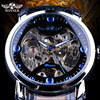 Winner Brand Mens Wristwatch Military Sport Clock Male Business Army Skeleton Automatic Mechanical Watches