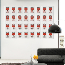 Andy Warhol lienzo Campbells tomate sopa POP ART Giclée lámina en lienzo  decoración de la pared Unframed 2dbc3e35bd70