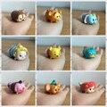 1 unids Tsum Tsum mini lote Minnie mouse Mickey mouse Winnie Dumbo figuras PVC muñecas 4 cm caja de color regalos
