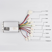 36V 48V1000W DC Motor Speed Controller Brush Motor Controller For Wheel Motor Electric Bike Brushed Motor electrica accessories
