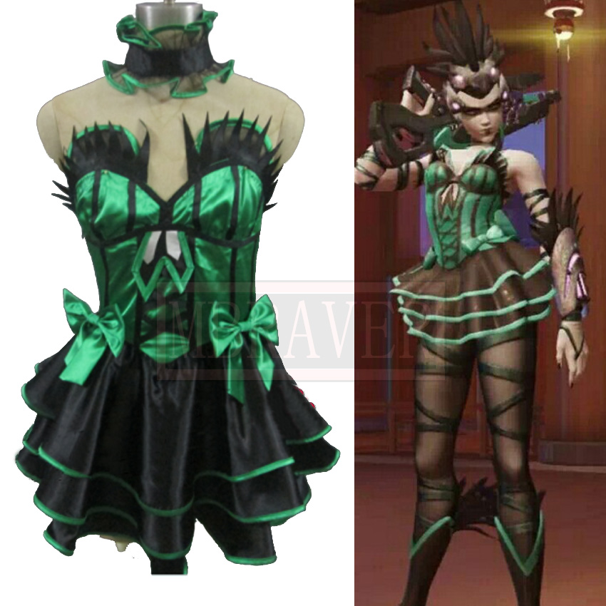 OW Amelie Lacroix Widowmaker Cosplay Costume Custom Made Any Size ow amelie lacroix widowmaker cosplay costume custom made any size