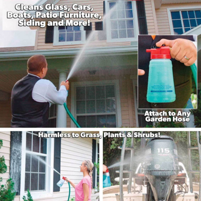 827be800e57 Drop Shipping Full Hot Crystal Outdoor Window Glass Cleaner Home Garden  Handheld Spray Mighty Fuller Cleaning