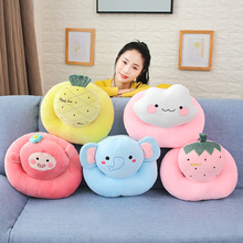 38*30cm Cartoon Fruits Animal Cute Plush Toys Stuffed Dolls Cushion Pillow For Kids Gift