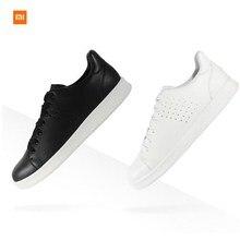 New Original Xiaomi FreeTie Smart Sneaker Leather Skateboard Shoes Comfortable Anti-slip Fashion Leisure Support Chip