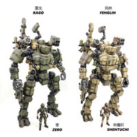 JOYTOY HZ0026 1:27 RAGO / FENGLIN Super Active Mecha Action Figure for Fans Holiday Gift
