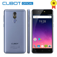 Cubot R9 MT6580 Quad Core Android 7.0 Fingerprint 2GB RAM 16GB ROM Smartphone 5.0 Inch 1280x720 HD Screen 13.0MP Camera Celular