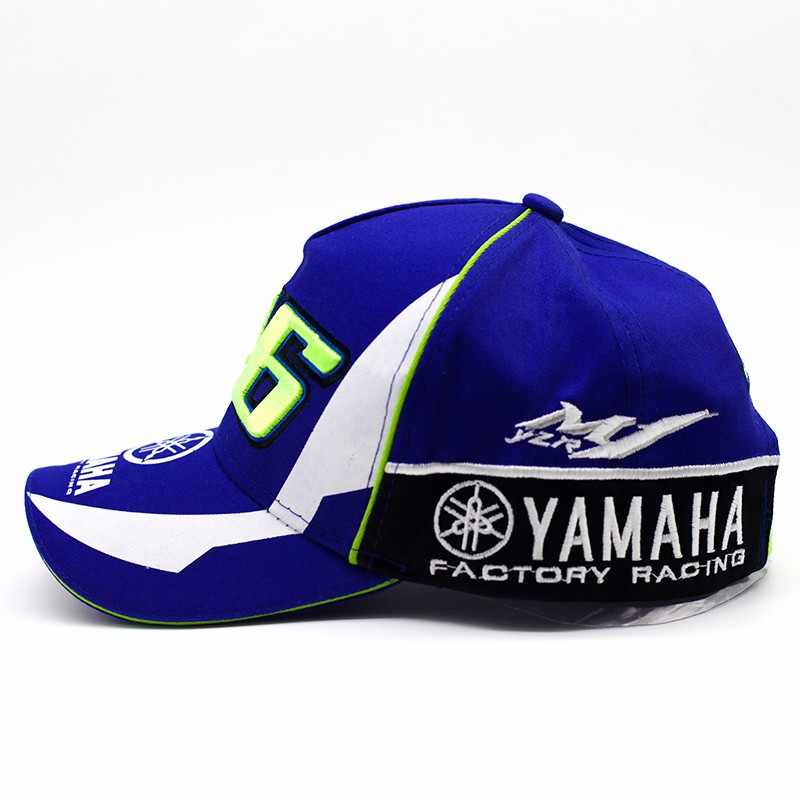 50dbdf39a2b High Quality MOTO GP 46 Motorcycle 3D Embroidered F1 Racing Cap Men Wo