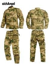 Multicam Schwarz Militär Uniform Camouflage Anzug Tatico Taktische Militärische Camouflage Airsoft Paintball Ausrüstung Kleidung