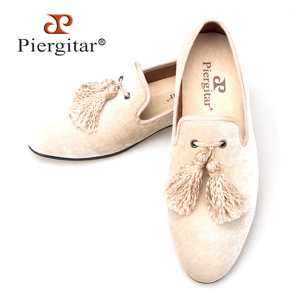 British nobility style men velvet handmade shoes with wavy tassel Party Prom and Banquet men loafers plus size men's flats handmade new fashion fabric tassel men velvet shoes british nobility style party and wedding loafers men dress shoe men s flats