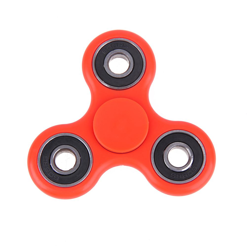 10 Colors 2017 Hot Sale Tri Spinner Fidget Toy EDC Hand Spinner For Autism ADHD Adults