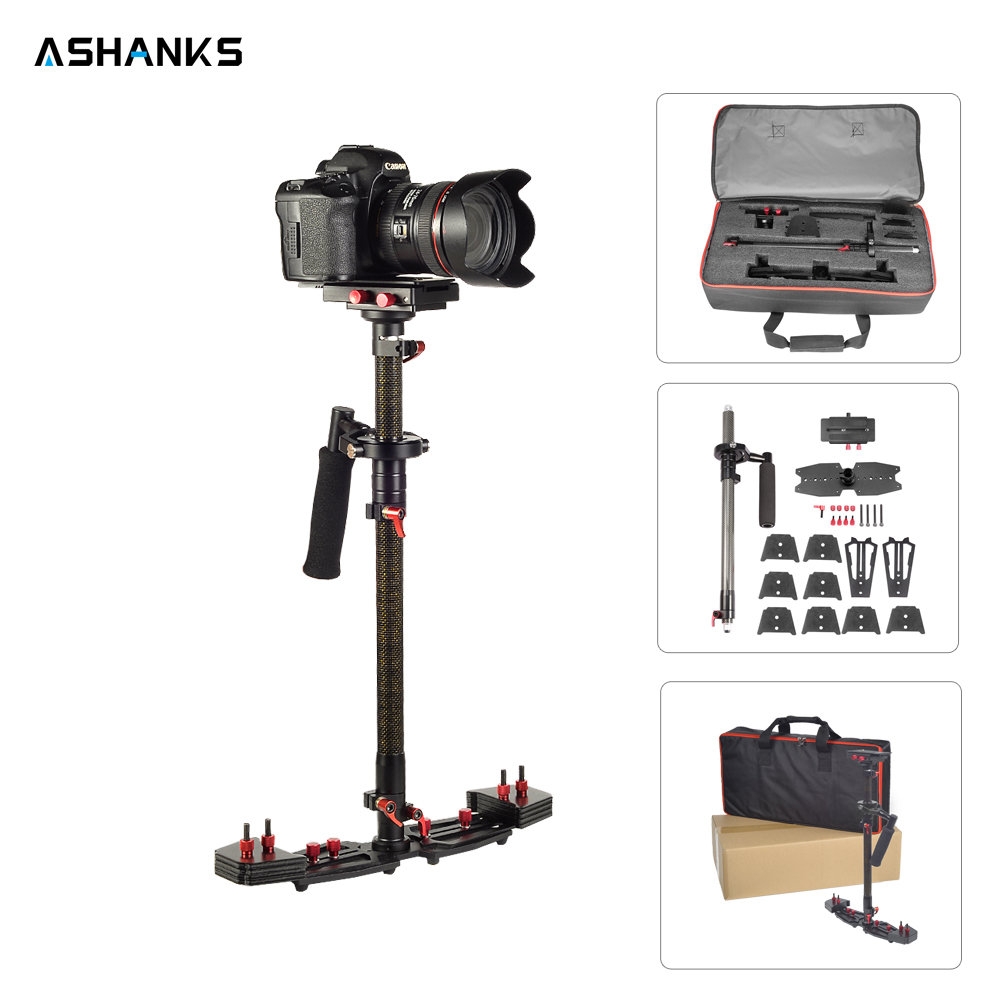 ASHANKS 80cm 31 5 Camera Stabilizer Carbon Steadycam HD2000 Handheld Steadicam for Photography Dslr Video 7kg