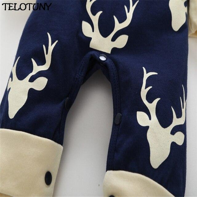 """""""Don't Moose With Me!"""" Longsleeved Deer Print Winter Jumpsuit  4"""