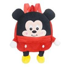 Mickey Minnie Plush Backpacks cute Stitch Stuffed Animals cute toys girls Backpack School Bag kids baby gift
