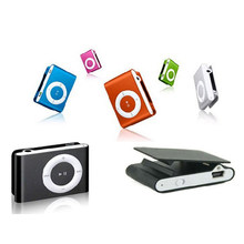 Baru Promosi Besar Cermin Portabel MP3 Pemain Mini Klip MP3 Pemain Tahan Air Olahraga MP3 Music Player Walkman Lettore MP3(China)