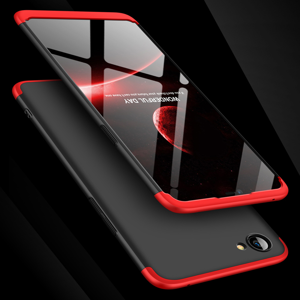 For OPPO A3 F7 Case 360 Degree Protected Full Body Phone Case for OPPO A3 A 3 Case Shockproof Cover Glass Film for OPPO F7 F 7 in Fitted Cases from Cellphones Telecommunications