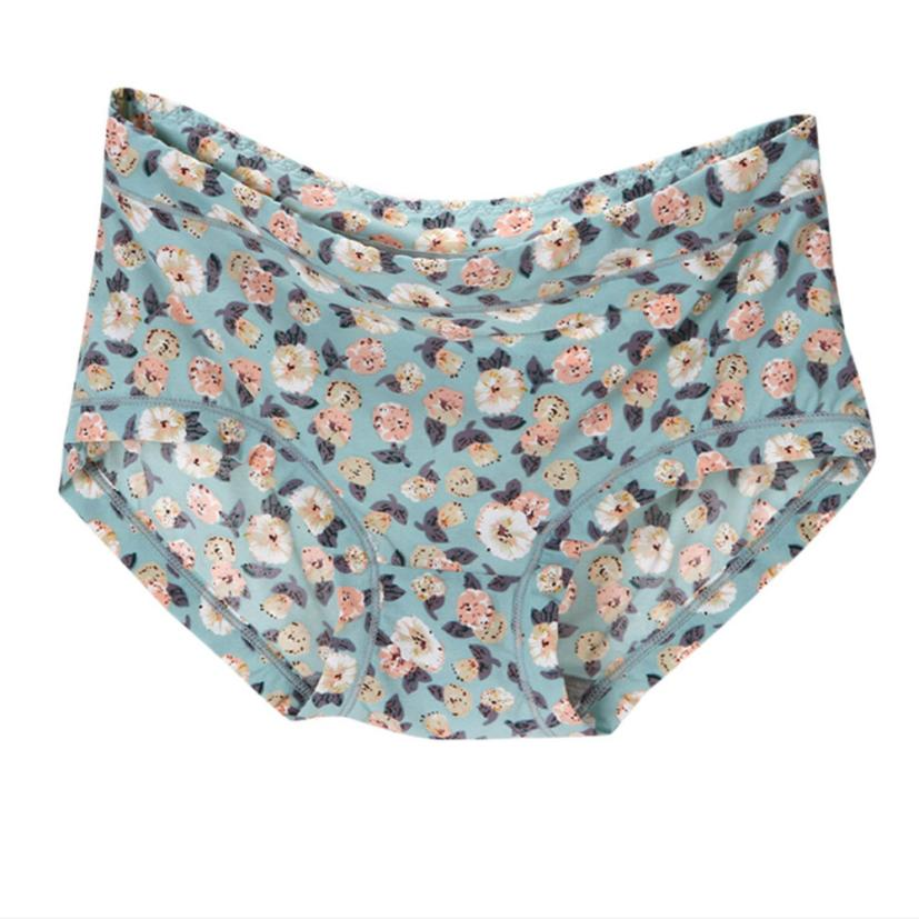 a5b05e607017c2 Women panties 2017 women Soft loose polyester panties middle rise ladies  print panties for women briefs calzones mujer algodon -in women's panties  from ...