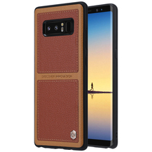 sFor Samsung Galaxy Note 8 Case NILLKIN Business Style Back Cover PU Leather Case For Samsung
