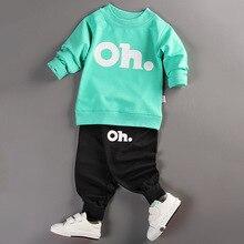 ФОТО  baby boys hoodie sets  newborn baby boy cotton spring autumn winter four seasons cartoon print suits boys sweater sets 2pc
