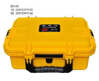 Top quality 17 inch DIY personal cosmetic box with pre-cut foams