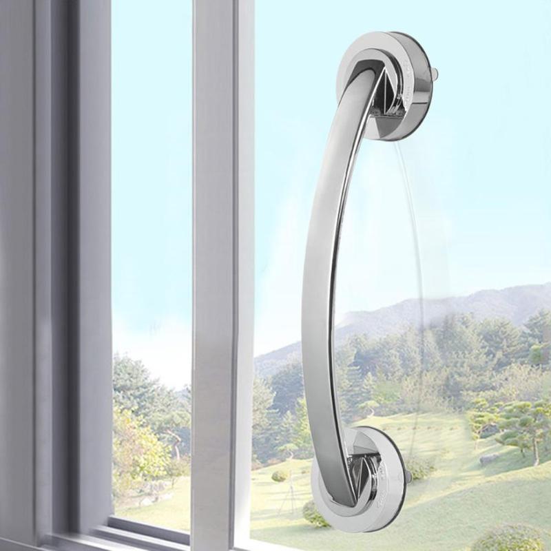 Suction Cup Grab Bar Handle Strong Sucker Hand Grip for Elder Children Bathroom Shower Safety Handrails Bathroom Accessories
