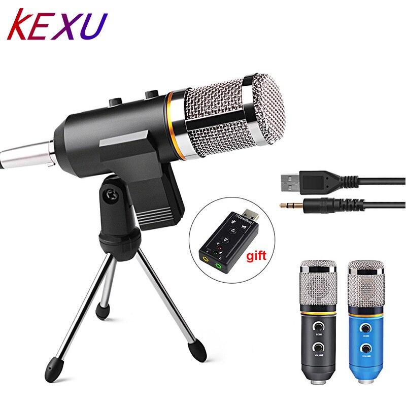 mk f200tl professional microphone usb condenser microphone for video recording karaoke radio. Black Bedroom Furniture Sets. Home Design Ideas
