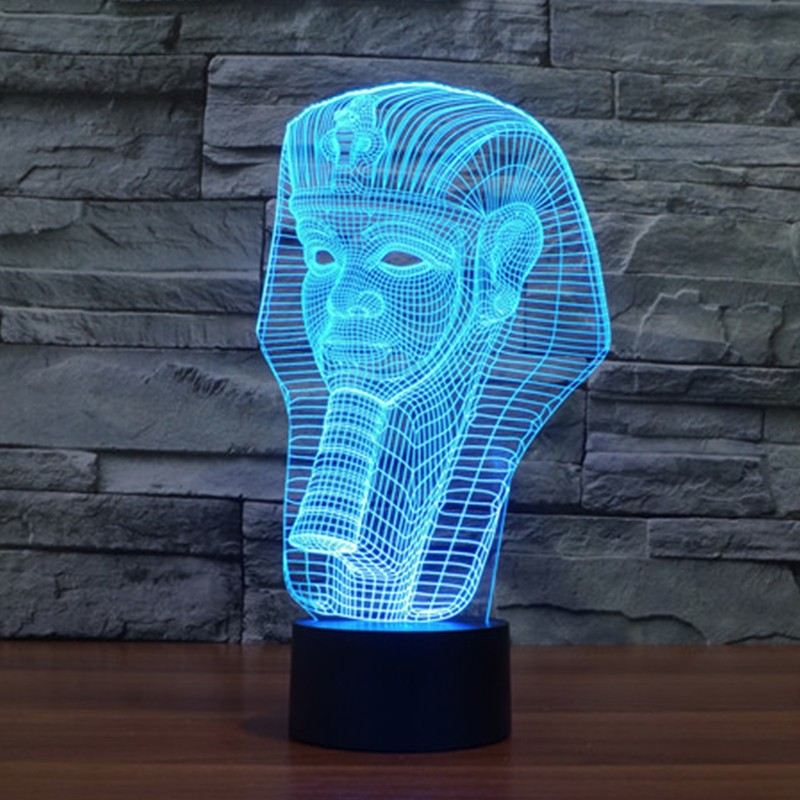 7-color-Holiday-Atmosphere-Decorative-Kids-gift-Pharaoh-Style-3D-Ilusion-LED-Night-Light (2)