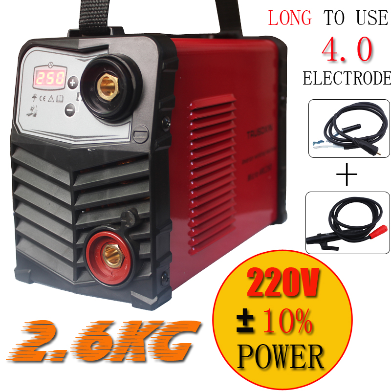 Mini Plastic panel 220V/-240V 2.6KG IGBT Inverter DC welding machine/equipment/welders Micro ARC250 stick welder for DIY  цены