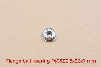 608-2RS 608RS 608ZZ F608ZZ 8mmx22mmx7mm black or blue red double rubber sealing cover deep groove ball bearing 1pcs image