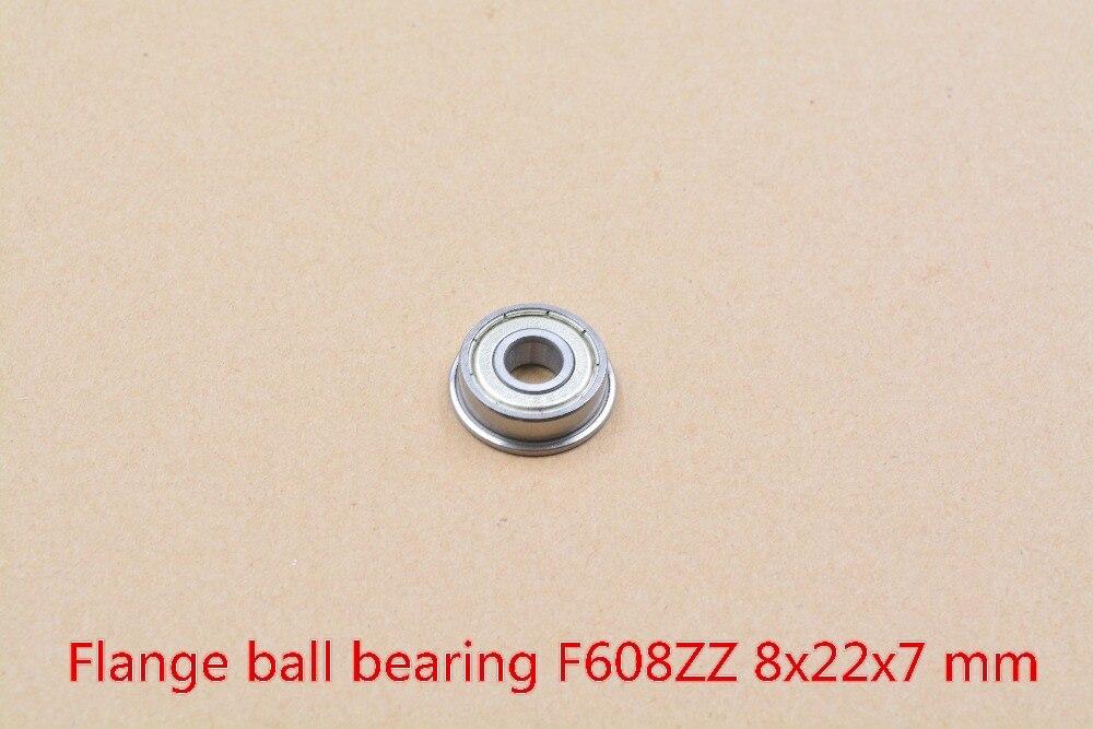 608-2RS 608RS 608ZZ F608ZZ 8 мм x 22 мм x 7 мм черный или синий красный двойной резиновый уплотнительный чехол глубокий шаровой подшипник паза 1 шт.
