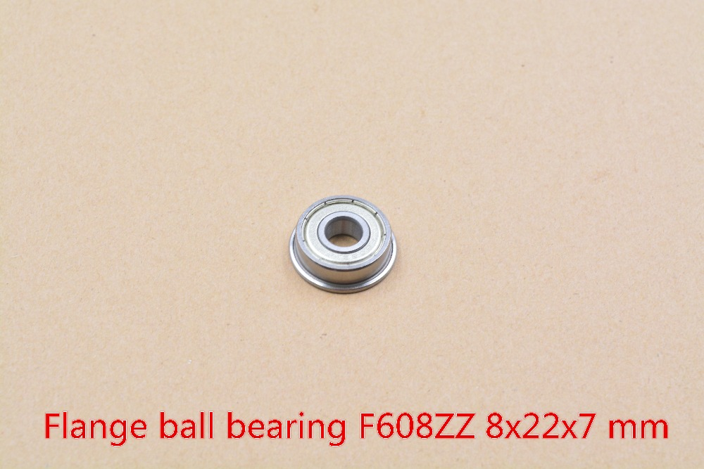 608-2RS 608RS 608ZZ F608ZZ 8mmx22mmx7mm Black Or Blue  Red Double Rubber Sealing Cover Deep Groove Ball Bearing 1pcs