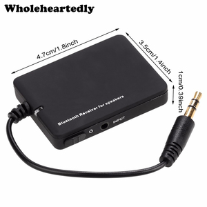 Hot Mini Wireless Bluetooth Audio Stereo Music Receiver 3.5mm Jack Car Adapter for Speaker MP3 MP4 Phone PC A2DP Devices