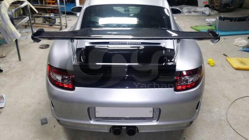 2005-2011 911 997 Carrara GT4 Style Rear GT Spoiler Wing CF (41)