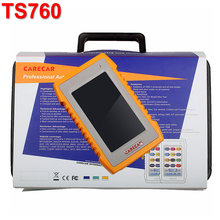 Newest Car Auto diagnosic&Coding Tool Scanner Carecar TS760 with Multi-language Automotive Functional Scanner Automotriz