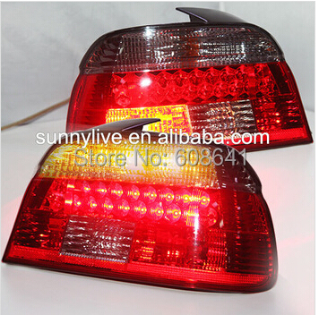 где купить E39 5 Series 520 525 528 530 535 540 For BMW LED Tail Lamp 1997-2000 Year Red black Color дешево