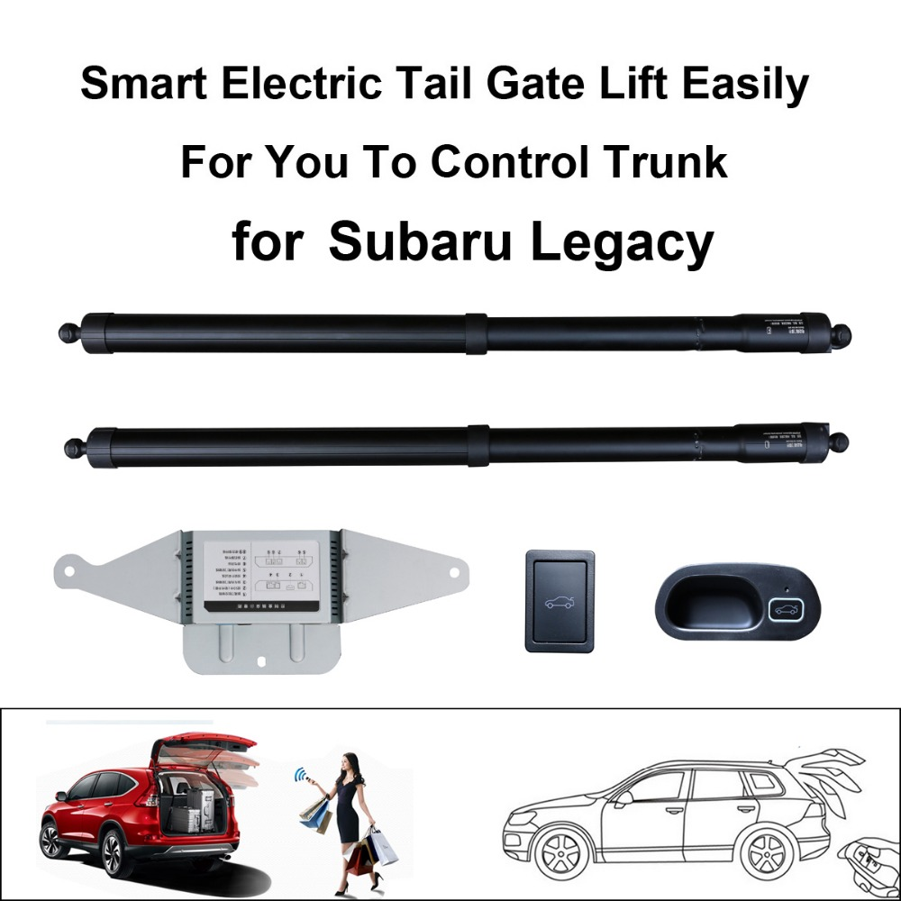 Smart Auto Electric Tail Gate Lift For Subaru Legacy Control By Remote Drive Seat Tail Gate Button Set Height Avoid Pinch