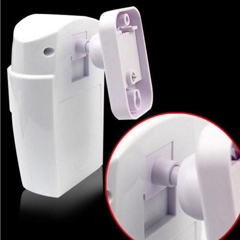 Купить с кэшбэком Wireless Home Security PIR MP Alert Infrared Detector Anti-theft Independly Motion Sensor Alarm Monitor with 2 remote controller