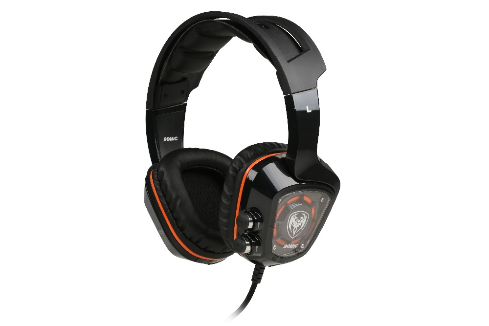 10pcsSomic G910 Gaming Headset Deep Bass Stereo SurroundGame Headphone with Mic and Volume Control for PC