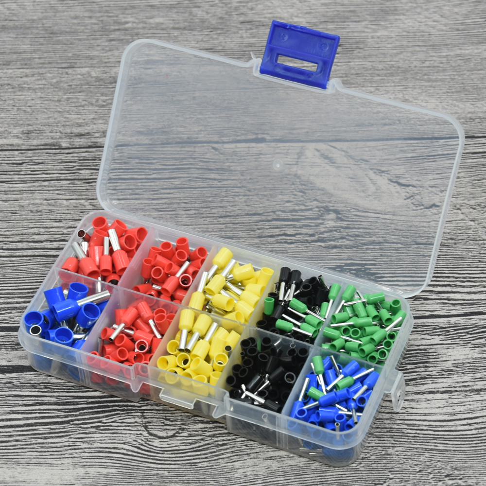 570pcs/lot Terminales Wire Connector Awg 570pcs/lot Assorted 9 Value ...