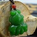 Natural jade Hetian jade pendant jewelry gift goldfish lovers