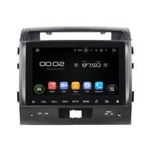otojeta car dvd player for toyota LandCruiser lc200 OCTA CORE ANDROID 6.0 2Gb ram auto gps stereo BT/radio/dvr/obd2/tpms/camera