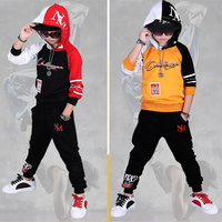 2018 Fall Hip Hop Costume Children's Clothing Set Outfit Boys Long Sleeve Sports Suit Kids Hoodies + Pants 2 Pcs Set Tracksuit